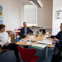 Befragung der Sicherheitsbeauftragten und des Umweltmanagementbeauftragten